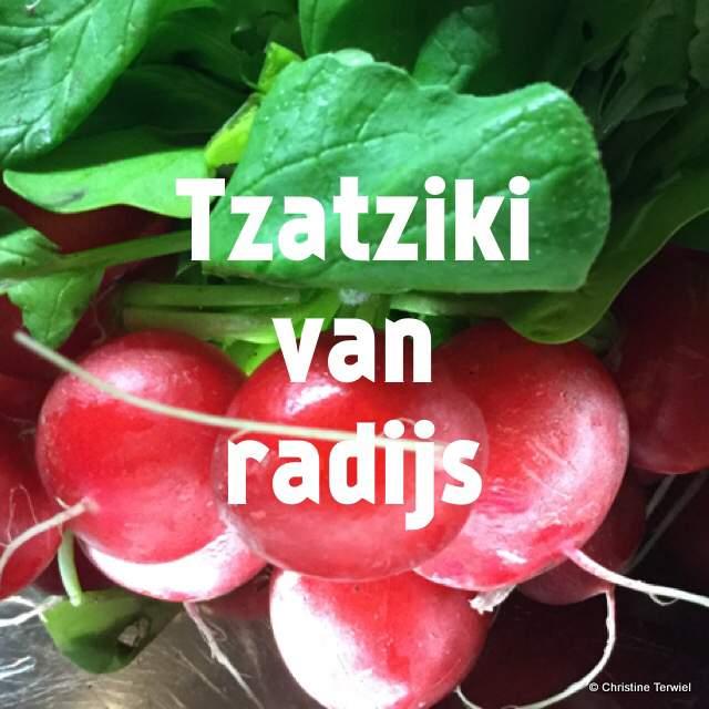 Radijsjes voor de tzatziki