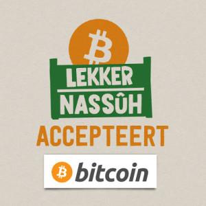 Lekkernasuh accepteert Bitcoin
