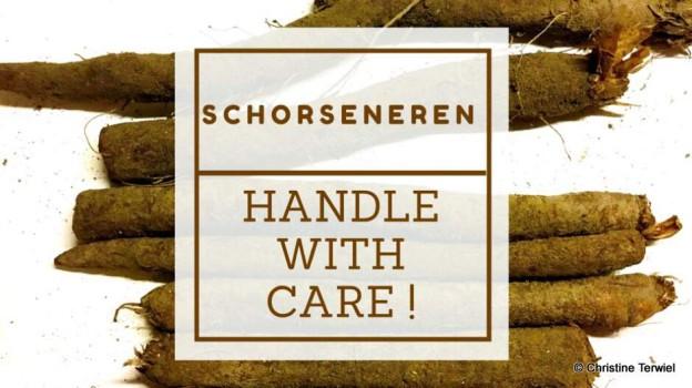 Schorseneren handle with care
